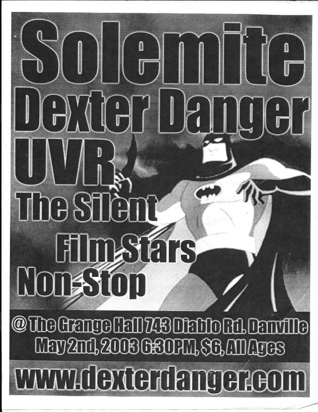 DD - May 2 2003
