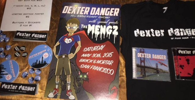 DD Merch Table