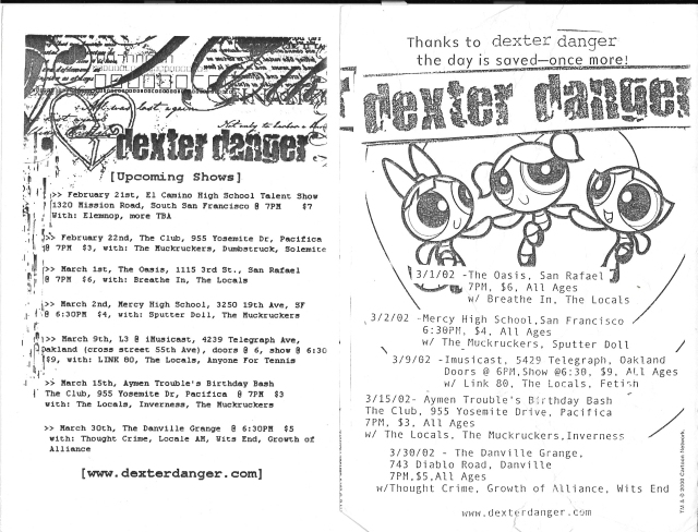 Dexter Danger - 2-21 to 3-39 2001-2002