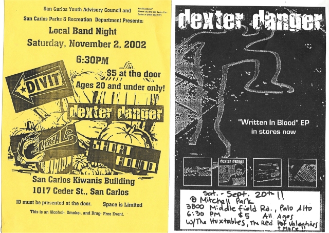 Dexter Danger - Aug Sep 2002
