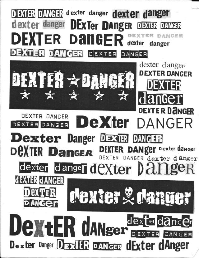 Dexter Danger logos