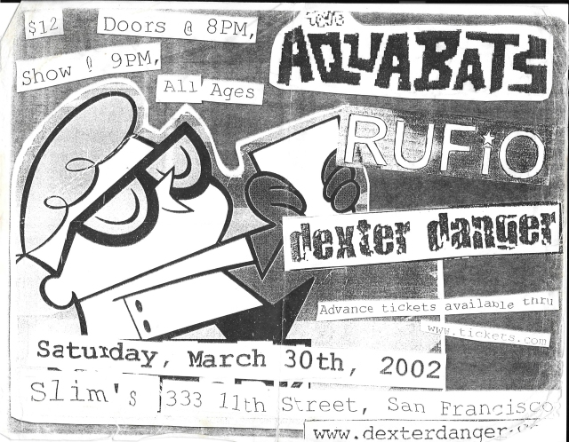 Dexter Danger - March 30 2002